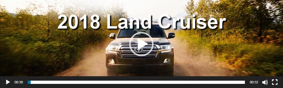 2018 Land Cruiser Video Overview