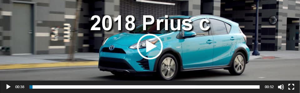 2018 Prius c Video Overview