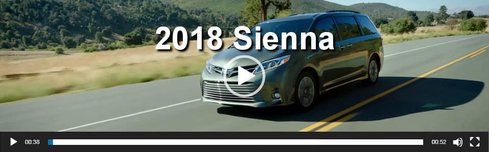 2018 Sienna Video Overview