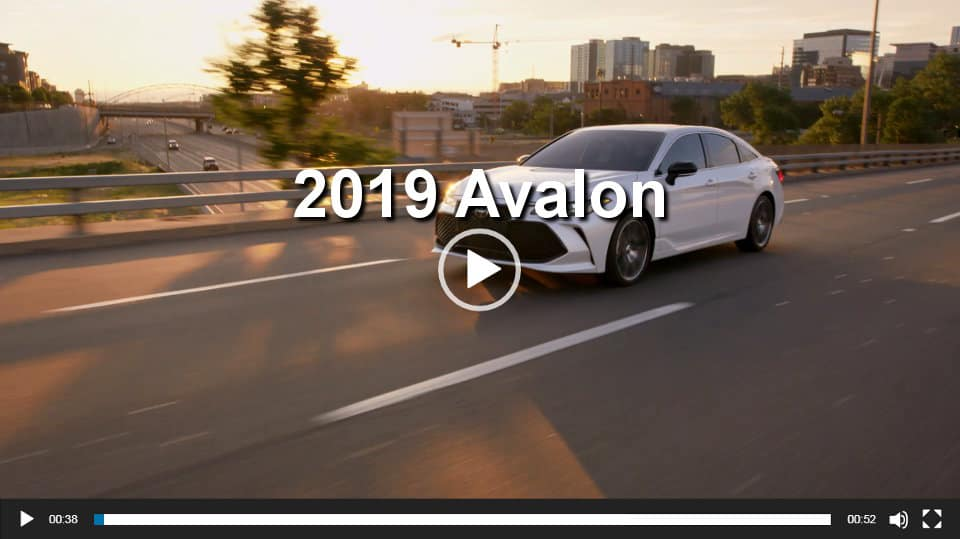 Toyota Avalon Video