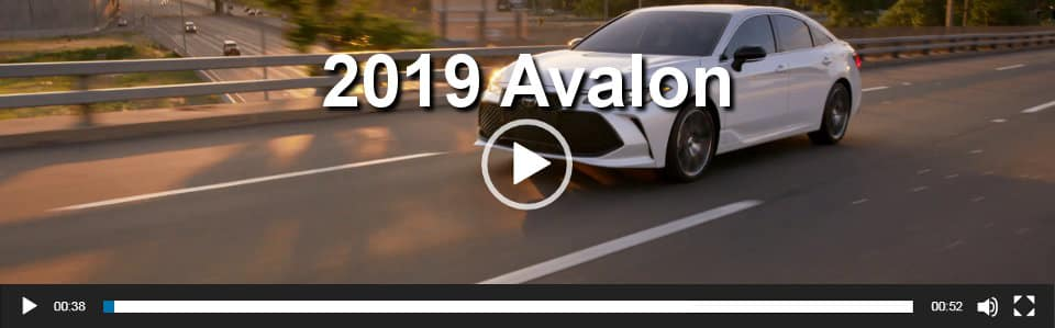 2018 Avalon Hybrid Video Overview