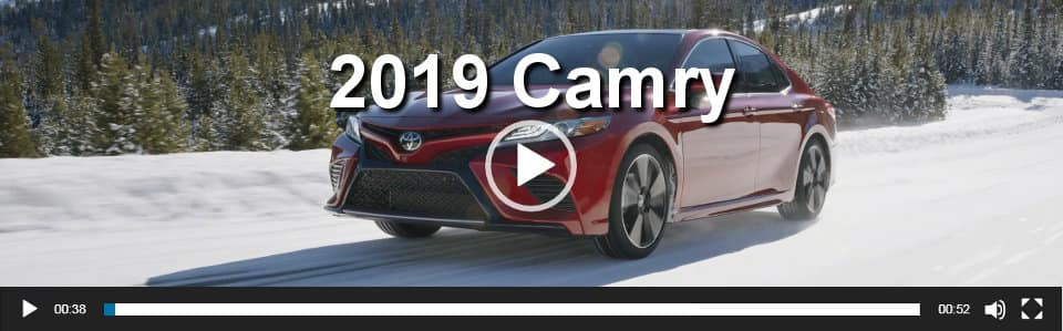 2019 Camry Video Overview