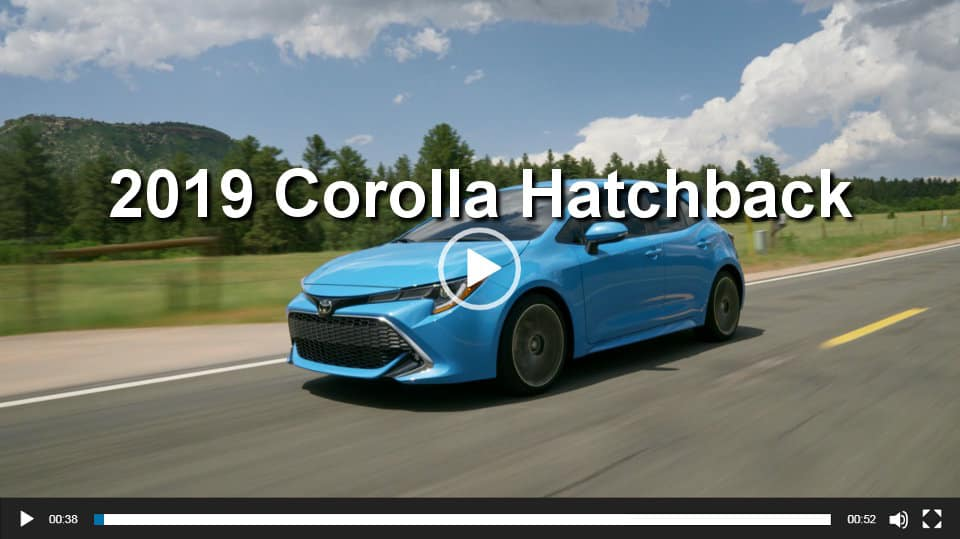 Toyota Corolla Hatchback Video