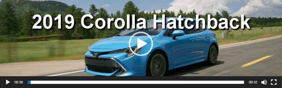 2019 Corolla Hatchback Video Overview