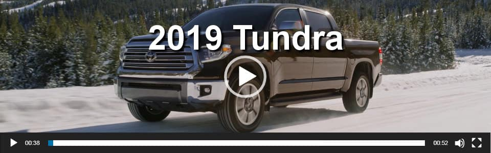 2019 Tundra Video Overview