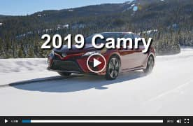 2019 Camry Video Preview