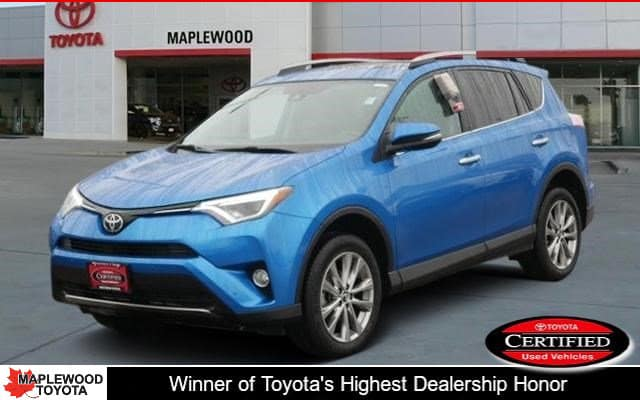 Certified Pre-Owned 2017 Toyota RAV4 Limited Sport Utility