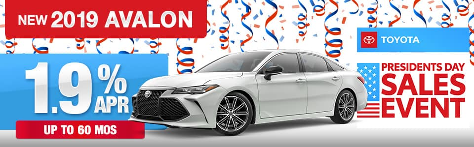 2019 Toyota Avalon Finance Special