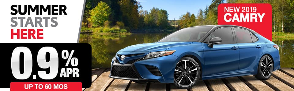 2019 Toyota Camry Finance Special
