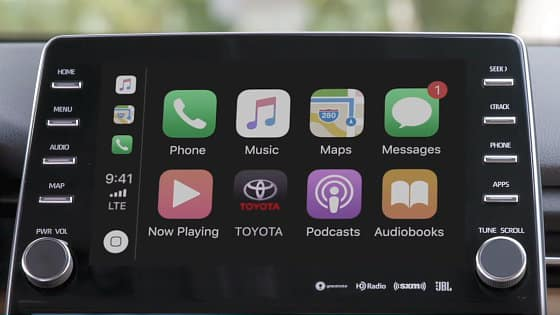 Apple-Car-Play is Now part of Toyota Entune 3.0