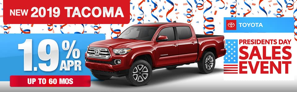 2019 Toyota Tacoma Finance Special