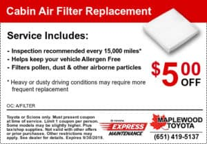 coupon-toyota-cabin-air-filter-services