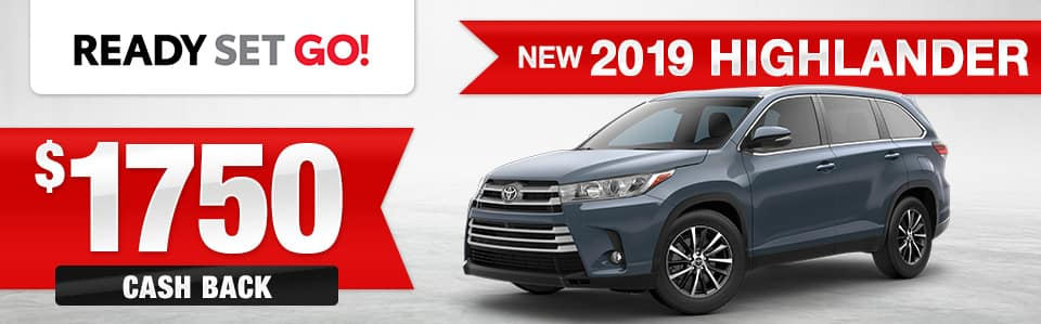 2019 Toyota Highlander Features Maplewood Toyota