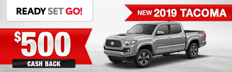 2019 Toyota Tacoma Cash Back Special