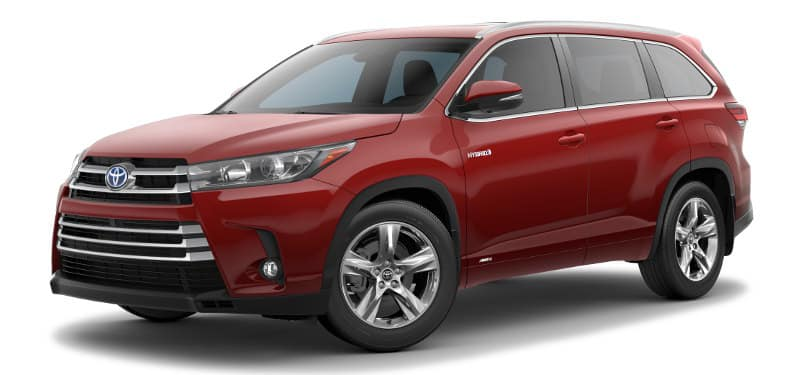 Toyota Highlander Hybrid Limited Trim Model
