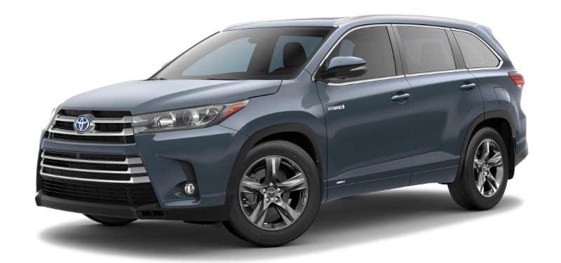 Toyota Highlander Hybrid Limited Platinum Trim Model