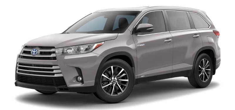 Toyota Highlander Hybrid XLE Trim Model
