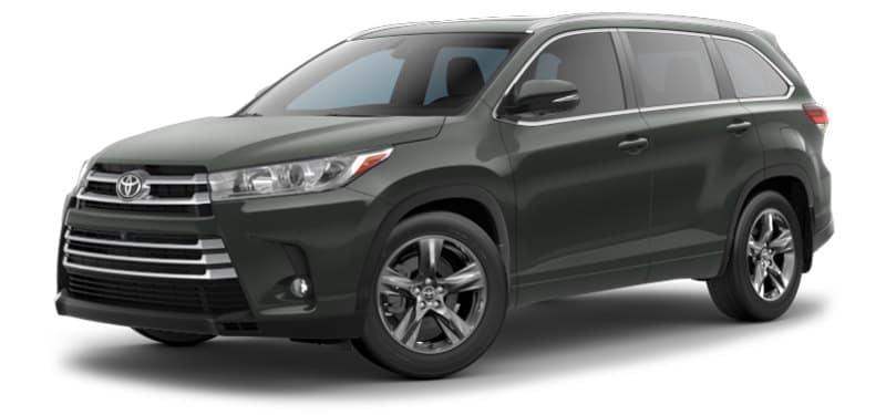 Toyota Highlander Limited Platinum Trim Model