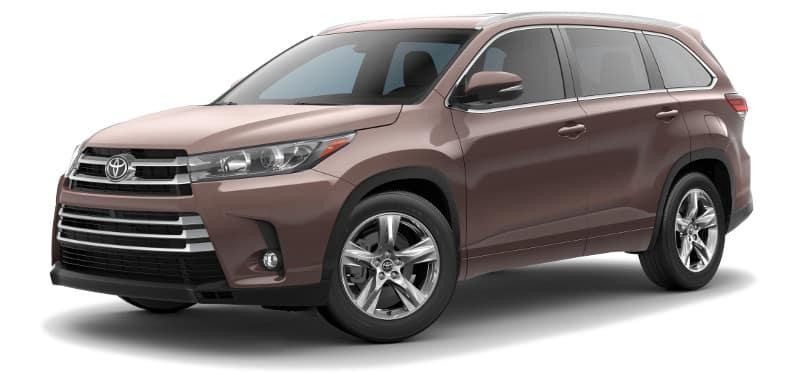 Toyota Highlander Limited Trim Model