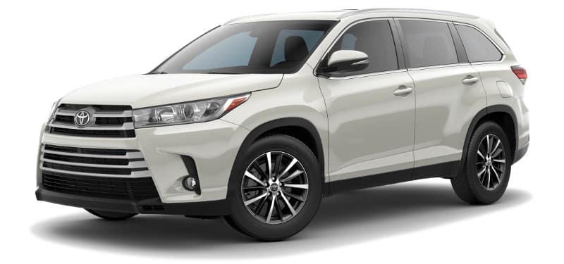 Toyota Highlander XLE Trim Model