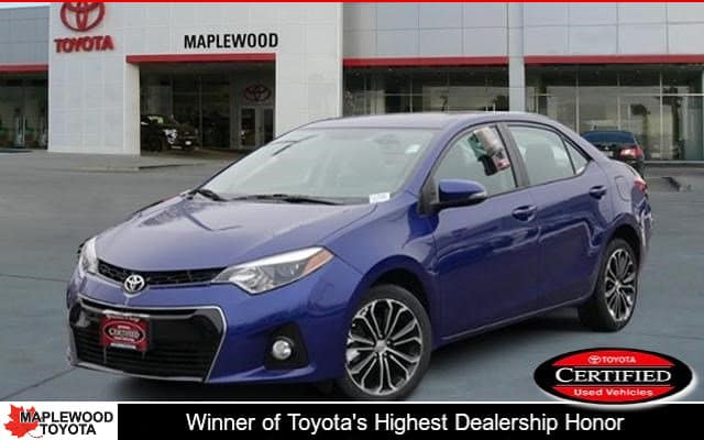 Certified Pre-Owned 2016 Toyota Corolla S Plus 4dr Car