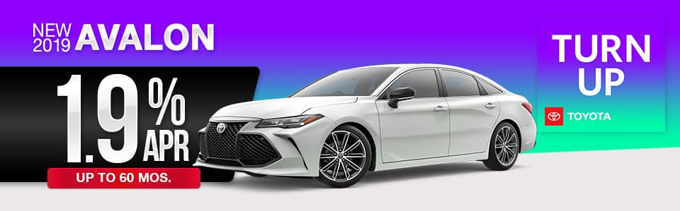 2019 Toyota Avalon Finance Special