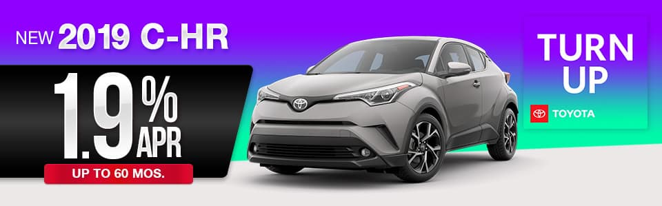 2019 Toyota C-HR Finance Special