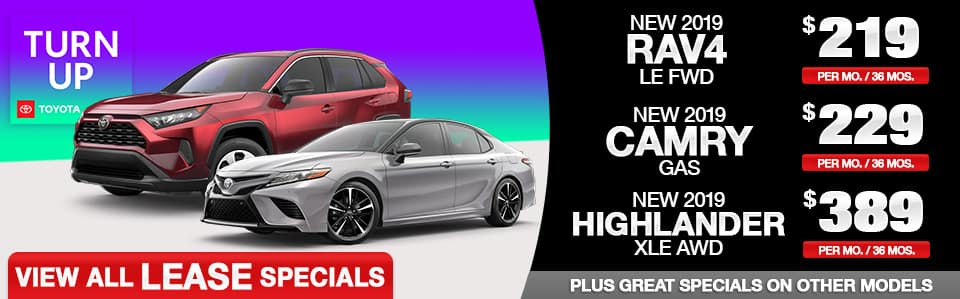 2019 Toyota-Lease-Specials