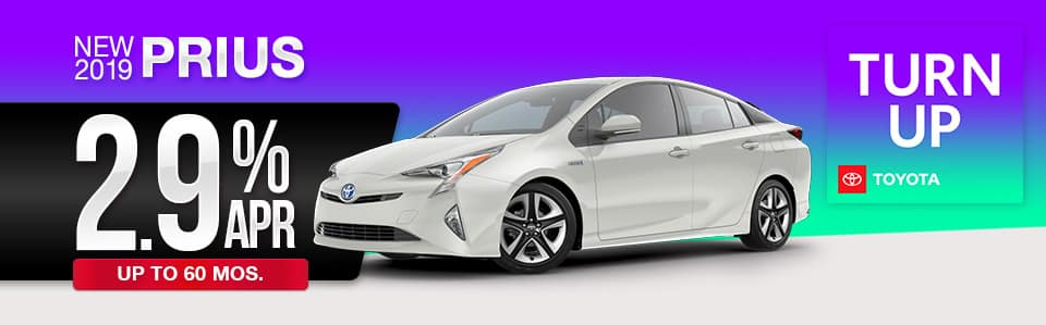 2019 Toyota Prius Finance Offer