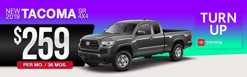 2019 Toyota Tacoma Lease Special