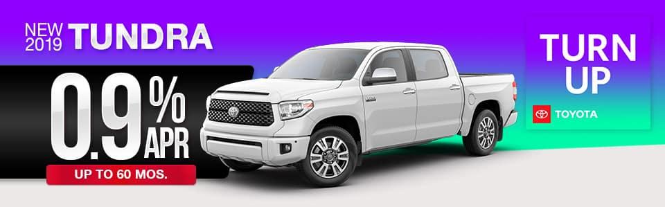 2019 Toyota Tundra Finance Special