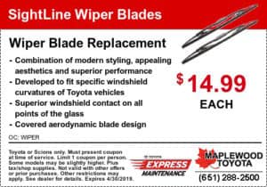 service coupon-toyota-sightline-wiper-blades