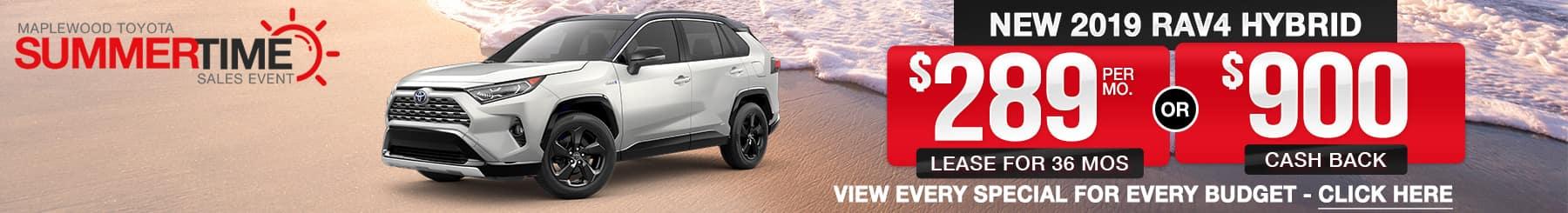 Toyota RAV4 Hybrid For Sale