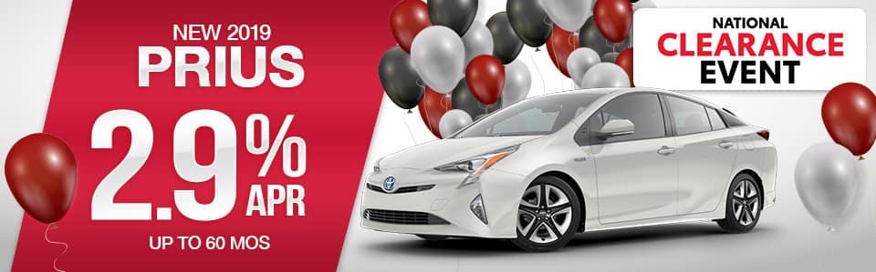 2019 Toyota Prius Finance Offer