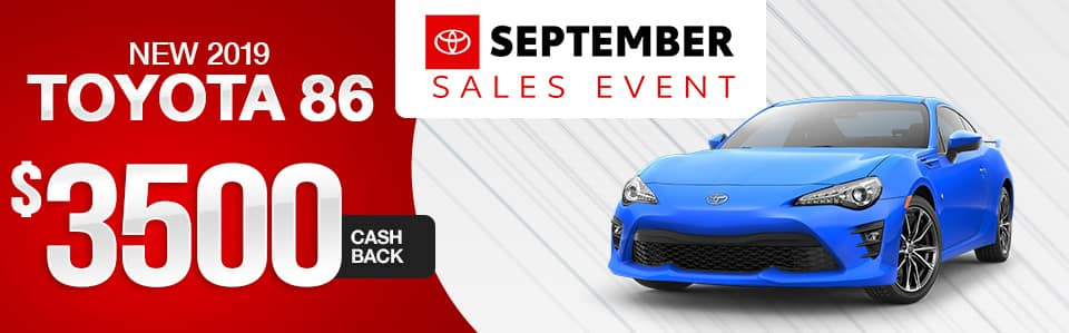 2019 Toyota 86 Features | Maplewood Toyota