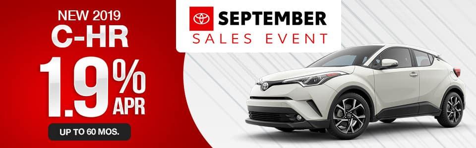 2019 Toyota C-HR Finance Special