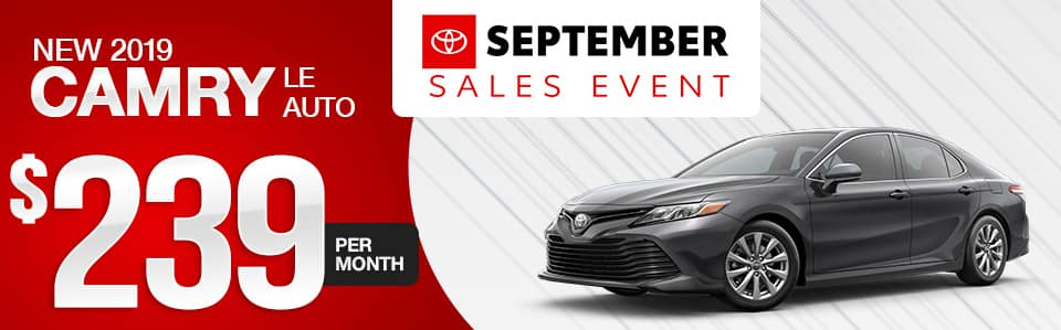 2019 Toyota Camry in Maplewood, MN | Maplewood Toyota