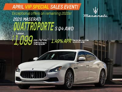 2020 Quattroporte S Q4 AWD Lease & Finance Offers