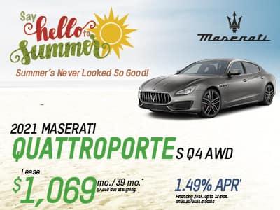 2020 Quattroporte S Q4 AWD Lease & Finance Offers