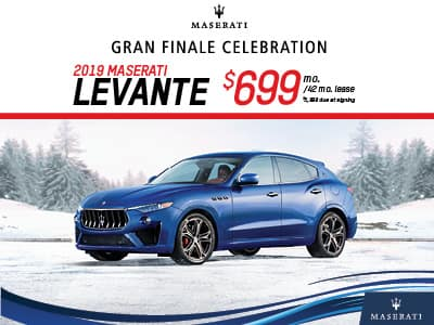 2019 Levante Lease