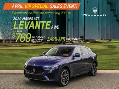 2020 Levante  AWD Lease & Finance Offers