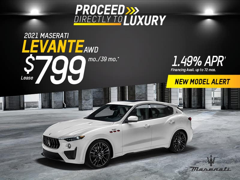 2021 Levante  AWD Lease & Finance Offers