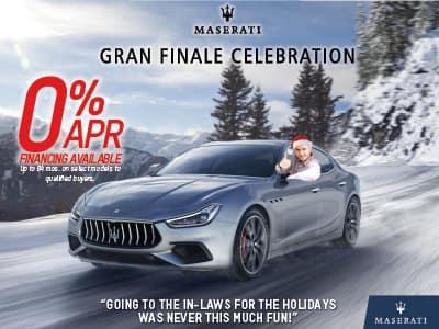 Gran Finale Celebration 0% Financing