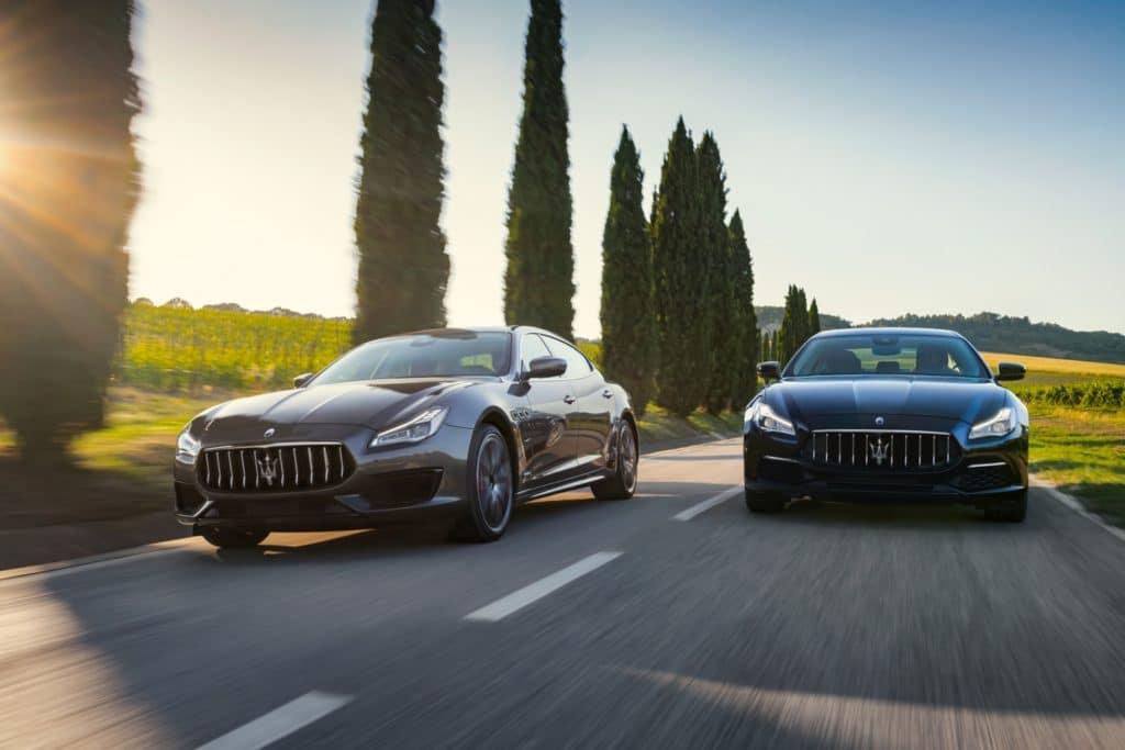2019 Maserati Quattroporte GranLusso & GranSport