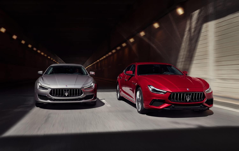 Maserati Ghibli MY19 Range GranLusso & GranSport