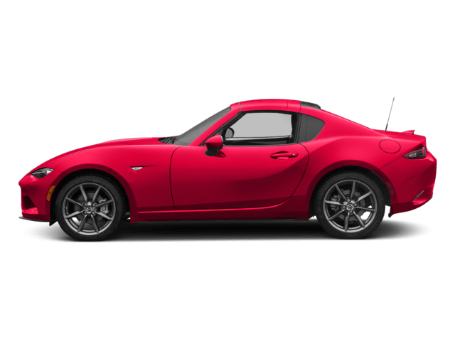 Red 2017 Mazda MX 5 Miata Model