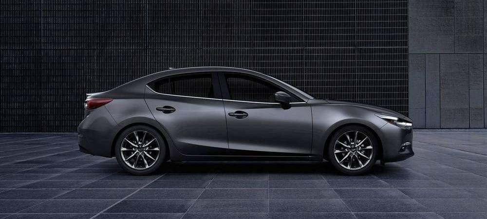 2018 Mazda3 Gray Side View