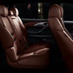2019 Mazda CX-9 maroon leather seats