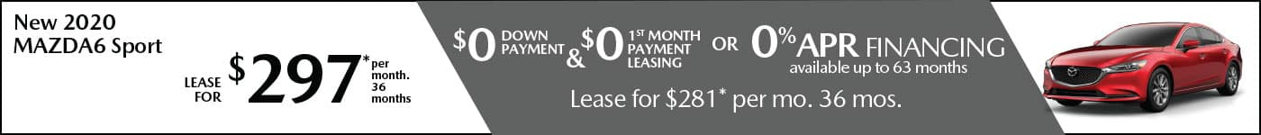 Mazda6 Sport lease offer Mazda of New Rochelle NY Mazda Dealer