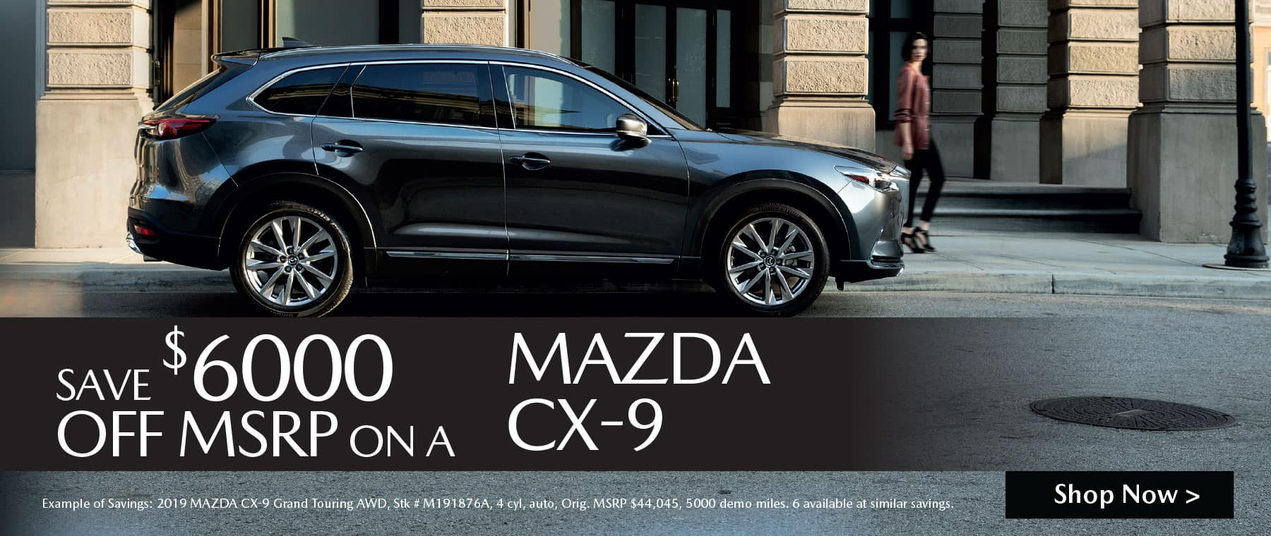 MAZDA CX-9 MSRP Savings